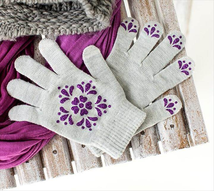 DIY NICE STYLISH GLOVES