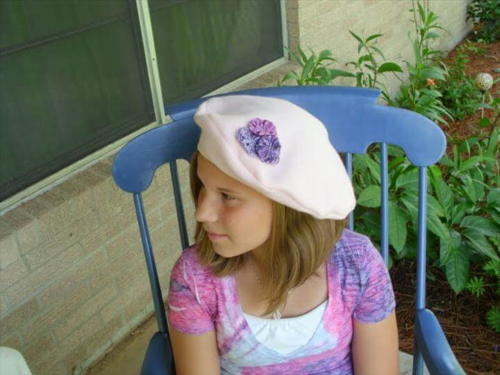diy beret, diy fashion, fashion ideas