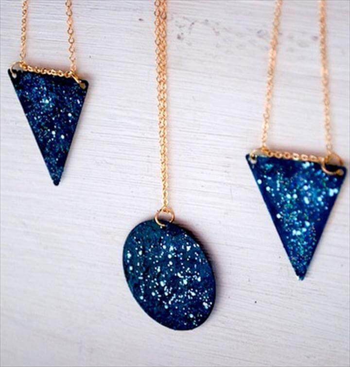 Galaxy Pendant Necklace