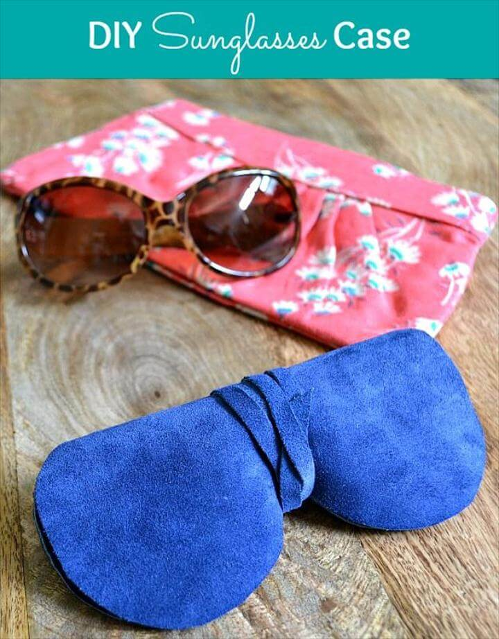 gorgeous DIY Sunglasses Case