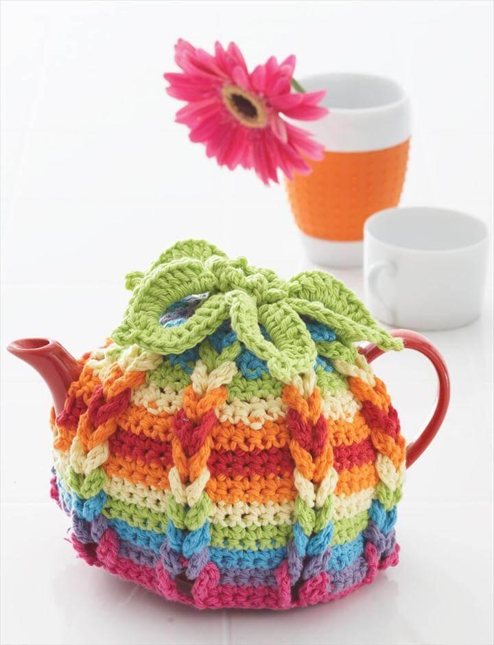 Crochet A Tea Pot Cozy: Hot Hibiscus Tea Cozy