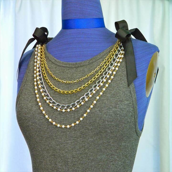 T-shirt Tank Dress DIY-Chanel Inspired