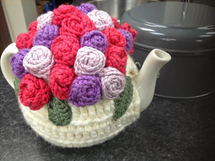 A Crochet Tea Cosy fit for a Kerry Woman