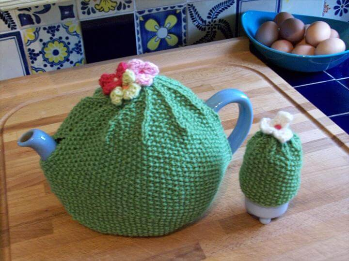 crochet tea cozy