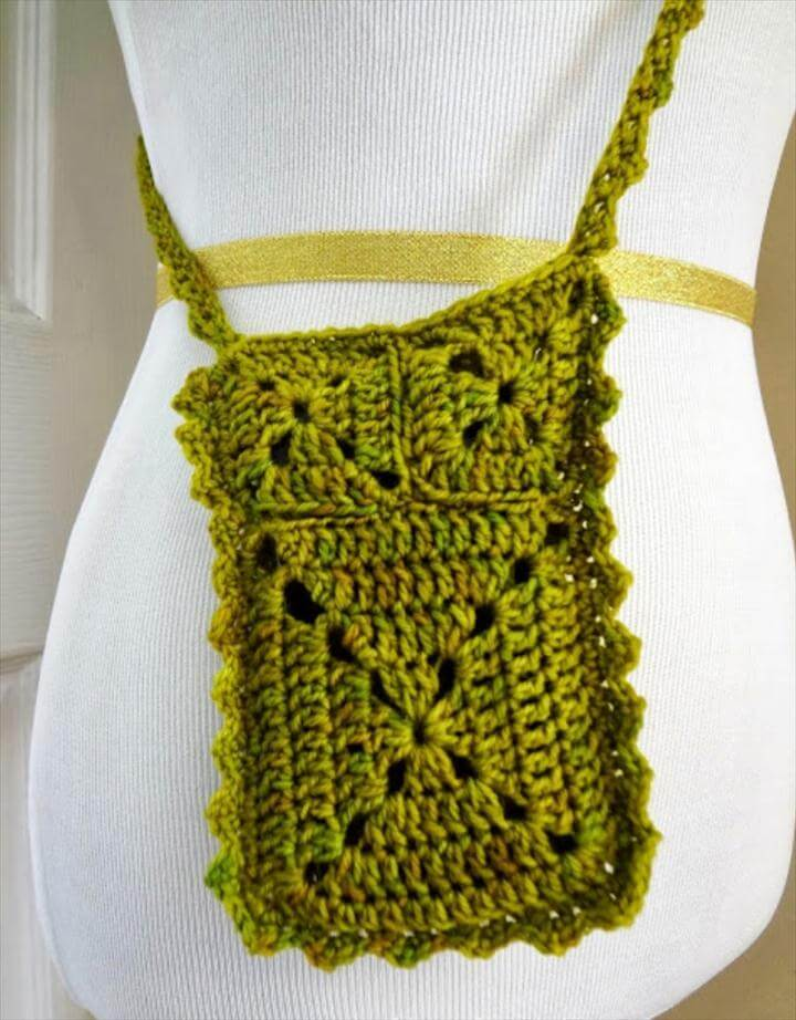 Patterns For Crocheted Small Summer Purses