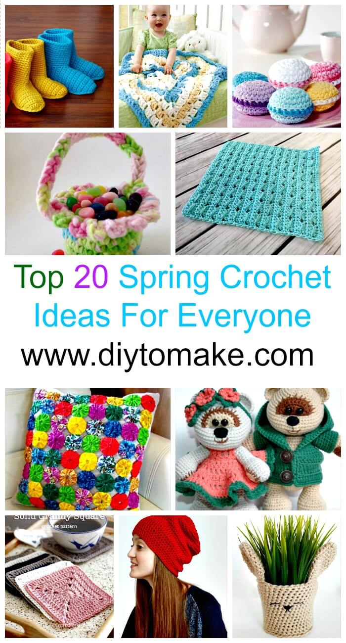 Top 20 Spring Crochet Ideas For Everyone