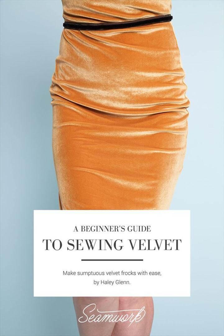 A Beginner's Guide to Sewing Velvet