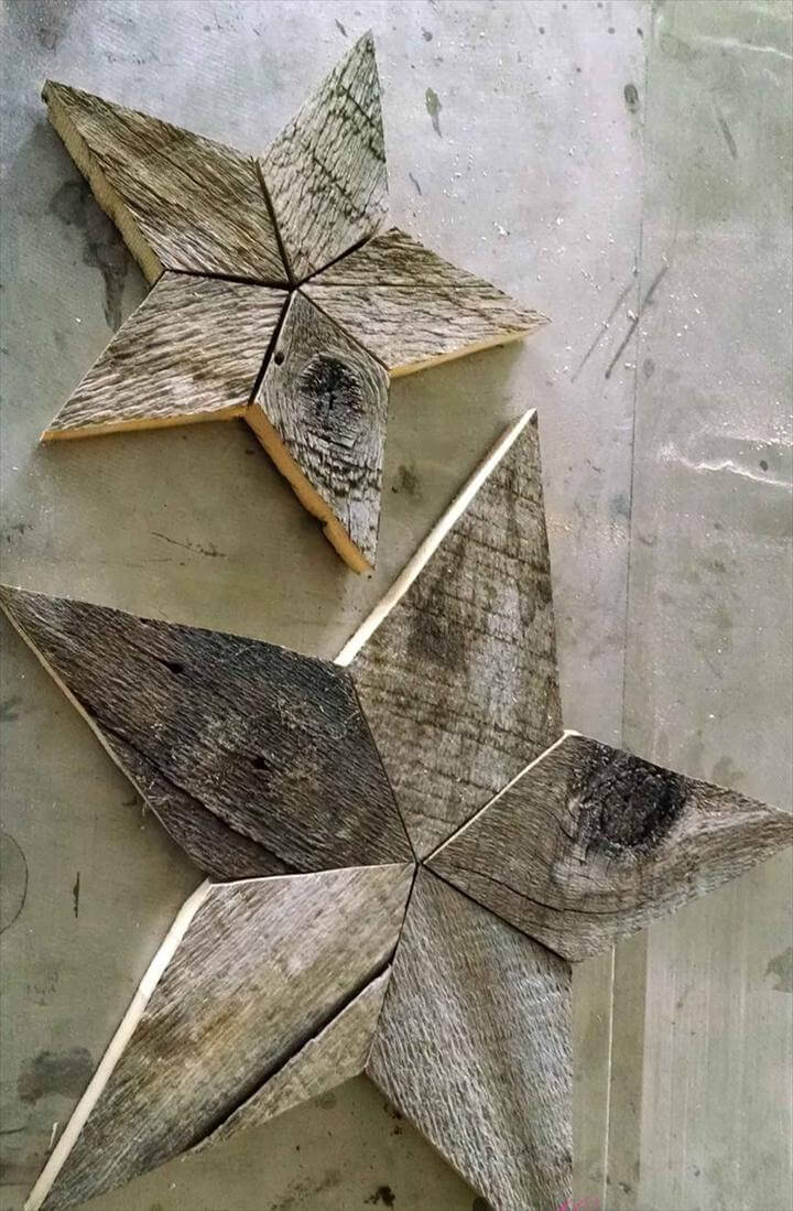 Patchwork Rustic Stars