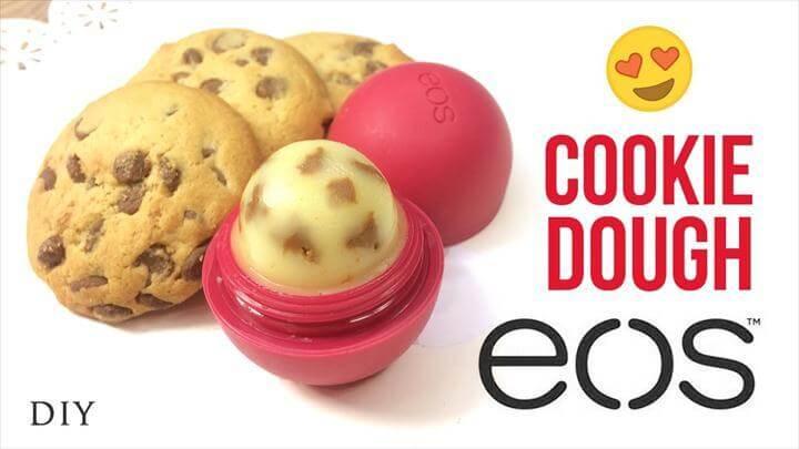 DIY EOS Cookie Dough Lip Balm!