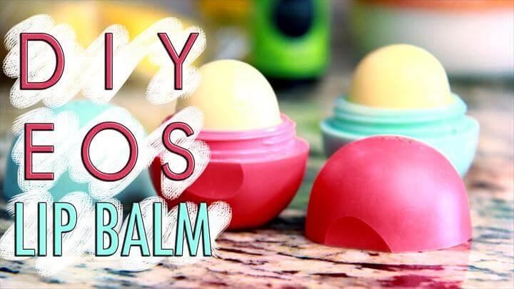 EOS Lip Balm DIY