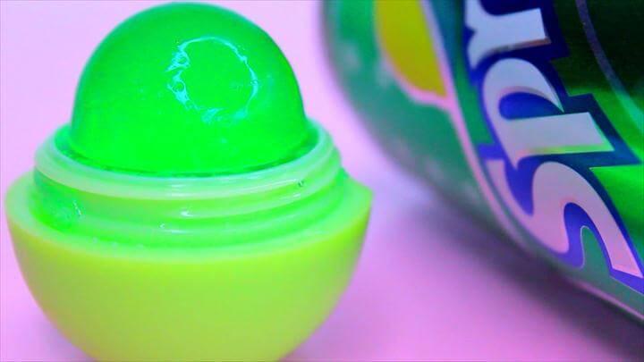 DIY Edible EOS made of SPRITE Soda