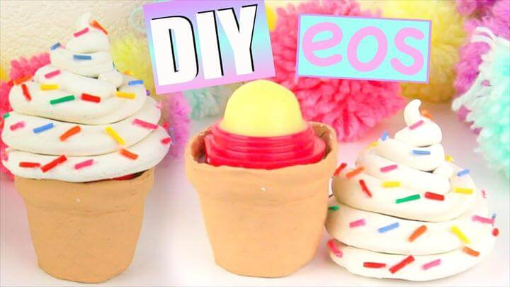 EOS ideas DIY ICE CREAM EOS