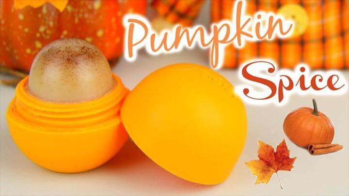 Image result for diy EOS ideas DIY Pumpkin Spice EOS Lip Balm