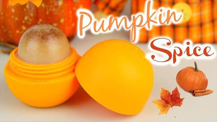 Image result for diy EOS ideas DIY Pumpkin Spice EOS Lip Balm