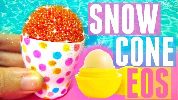 DIY SNOW CONE EOS