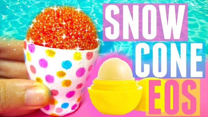 DIY SNOW CONE EOS