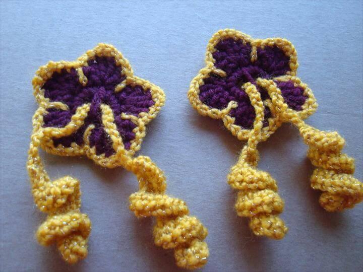 Hibiscus Flower Hair Ties