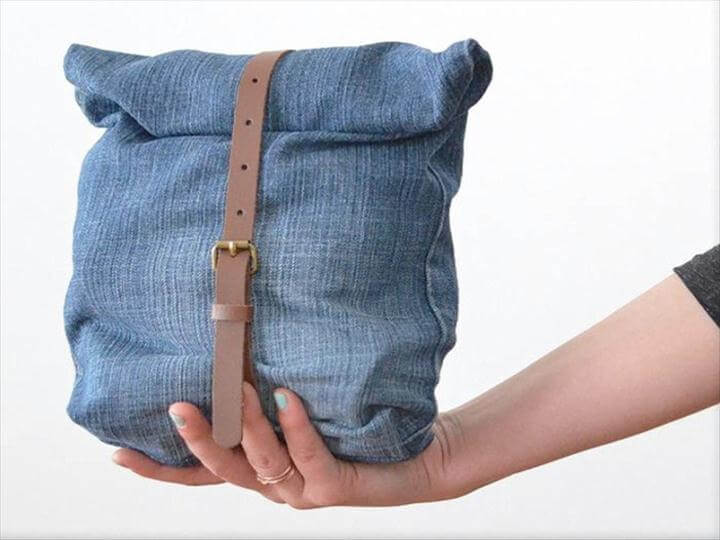 Upcycled Projects Using Old Jeans Upcycle Old Jeans Into A Bag