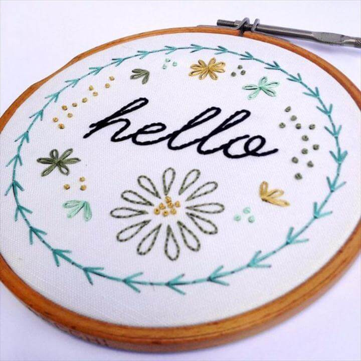 Basic Hand Embroidery