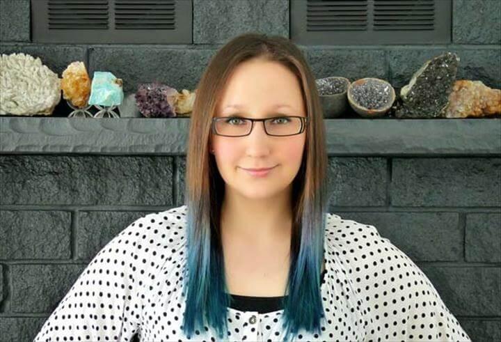 Blue Ombré Hair