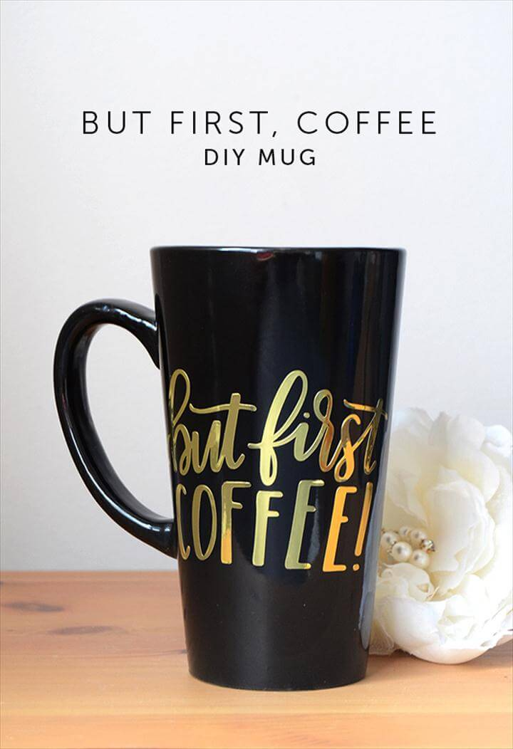 sparkling coffee mug