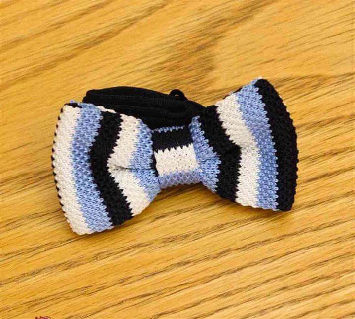 Knitted Bow Ties, Spiral Corkscrew Hair Tie - Crochet Hair Scrunchiie - Crochet Hair Accessories - Crochet Hair bands - Crochet Hair Ties