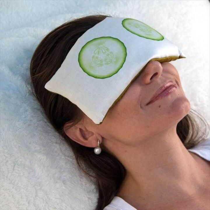 Cucumber Spa Eye Pillow