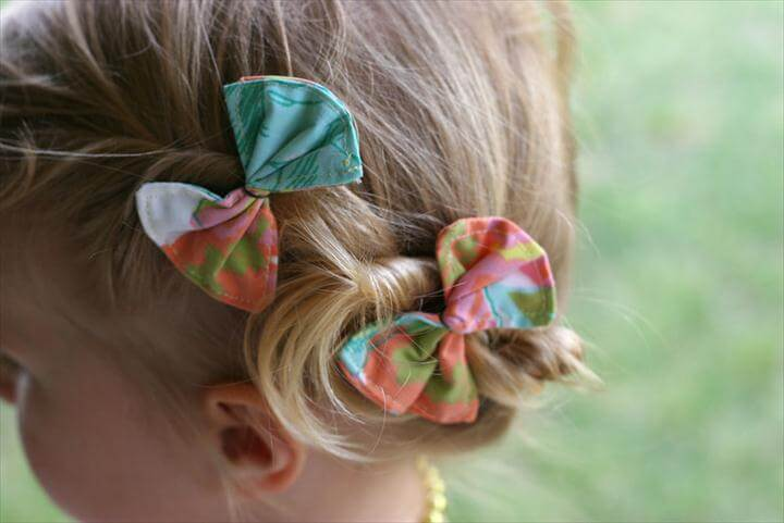 Cute and Easy To Make Hair Bows