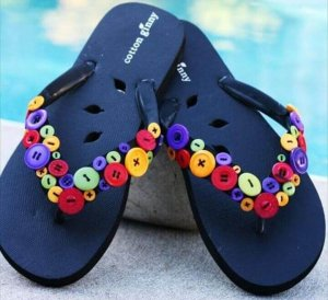 12 DIY Fun & Funky Flip Flops Ideas