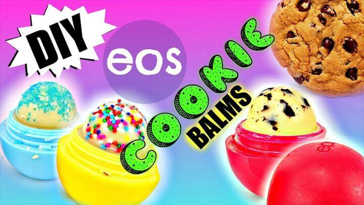 eos cookies, diy cookie