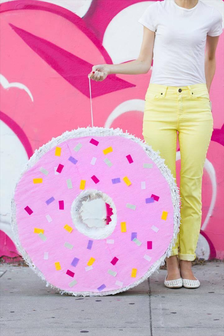 DIY Donut Pinata