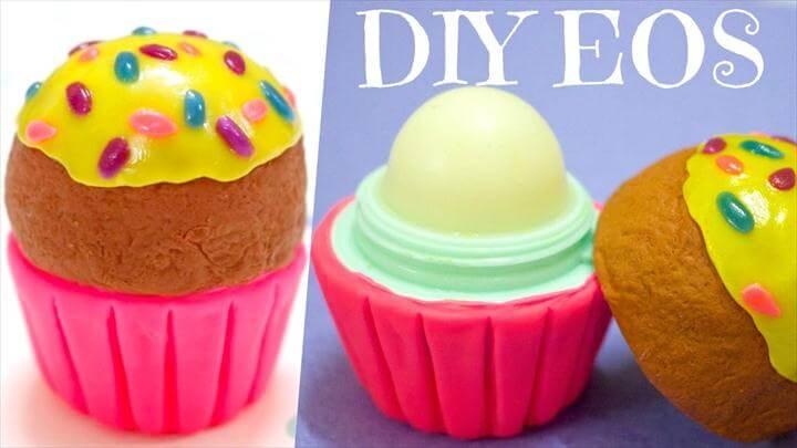 DIY Cupcake EOS Container