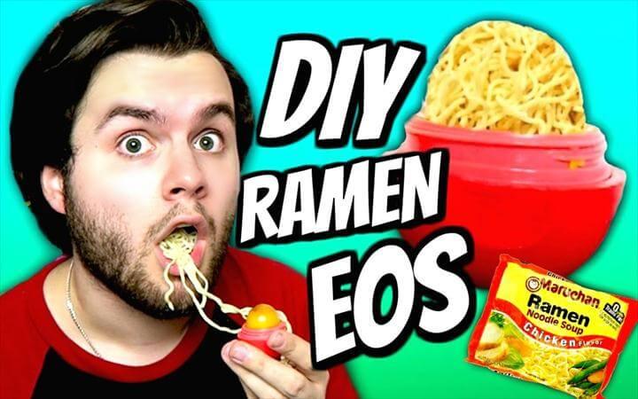 DIY Ramen Noodle EOS