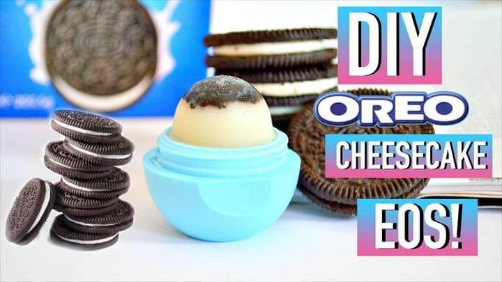 DIY Oreo Cheesecake EOS