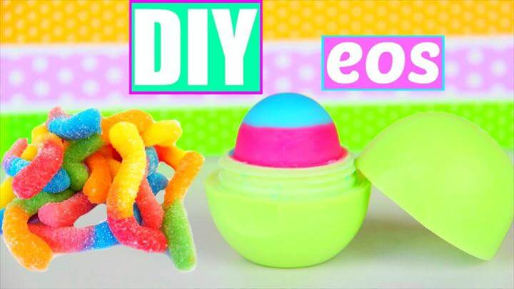 DIY EOS out of Gummy Worms