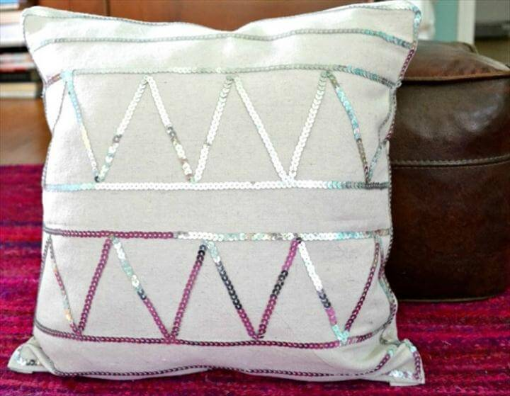 easy sequin pillowasubtlerevelry