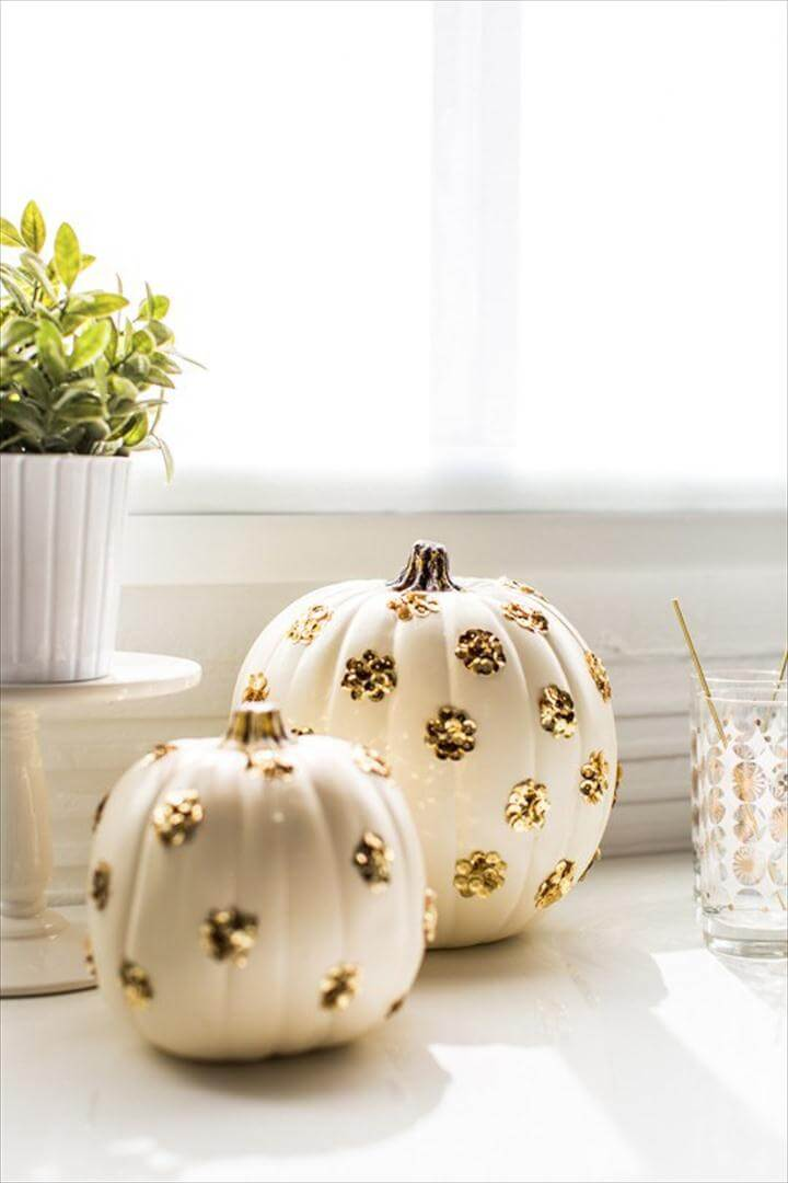 No Carve Halloween Pumpkin Painting & Decorating Ideas
