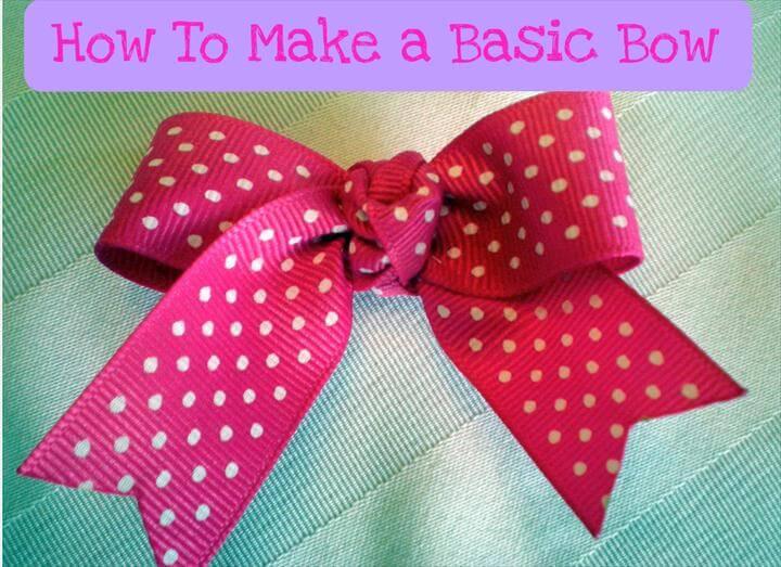 Easy Sewing Pattern Girls dress Pillowcase dress Beginner PDF Sewing Patterns : How To Make a Basic Hair Bow Free tutorial