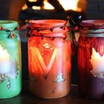 diy mason jar candle, candle for decor home