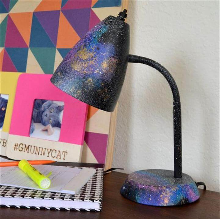 DIY Galaxy Desk Lamp