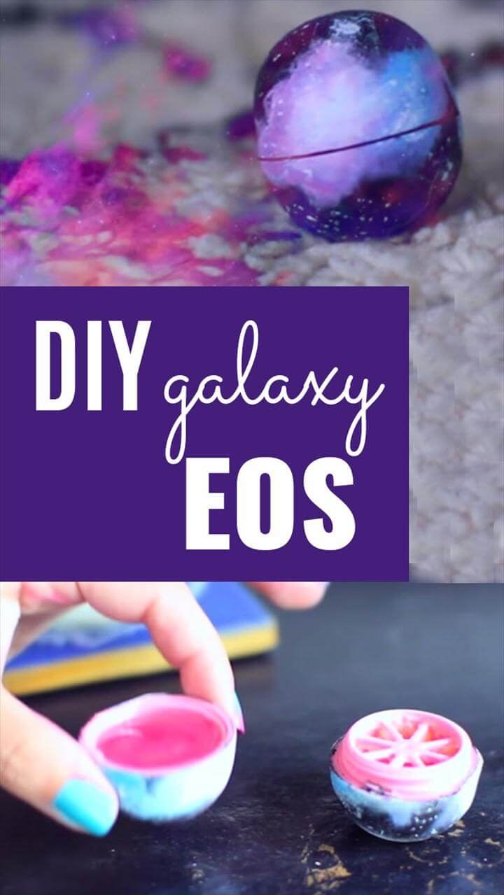 DIY Galaxy EOS Tutorial - Fun Crafts for Teens - Galaxy DIY Paint Project for Teenagers