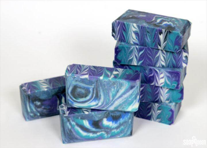 DIY Galaxy Crafts - DIY Soap - Galaxy DIY Projects for Your Room, Gifts,