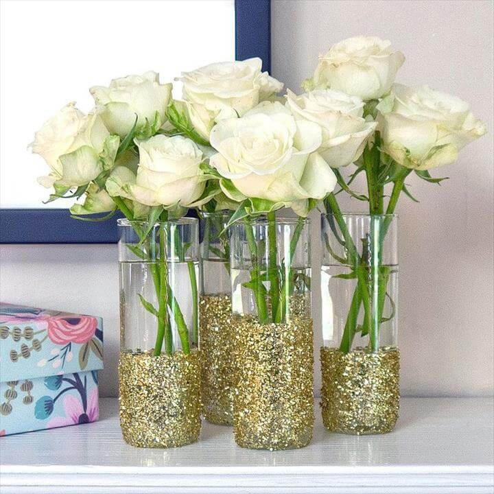 Glitter on With This Shot-Glass DIY