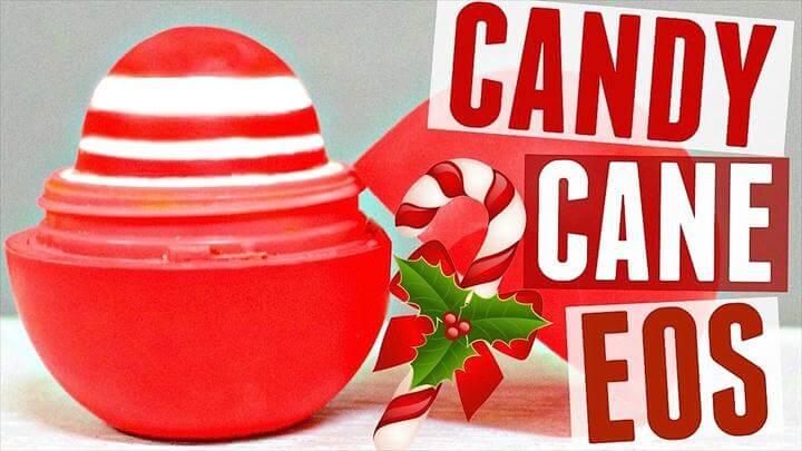 DIY Candy Cane EOS