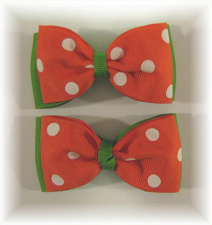 Bow Tie Hair Bow