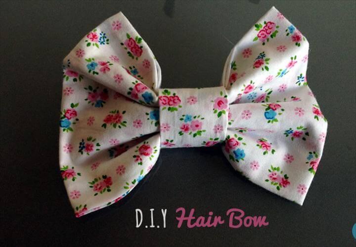 DIY Hair Bow Tutorial
