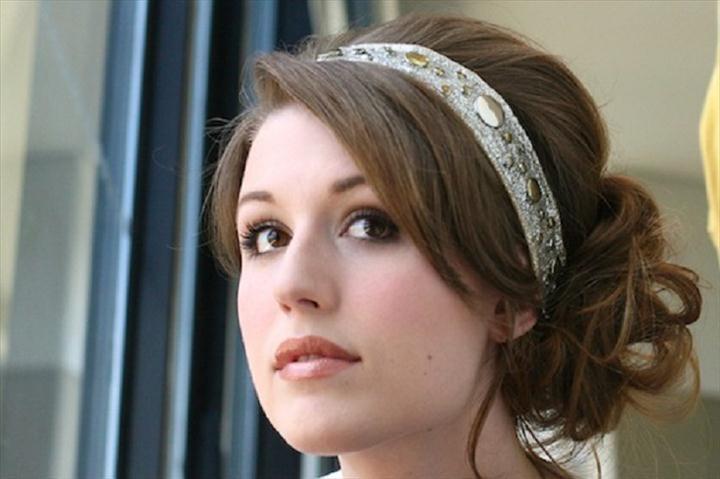 DIY Charlize Theron Inspired Headband