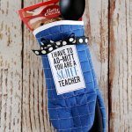Kitchen Mitt Teacher Gift