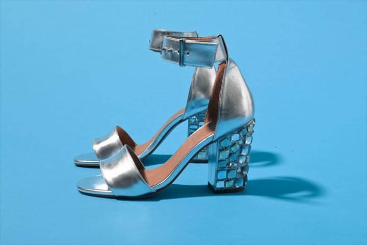 gorgeous mosaic heel
