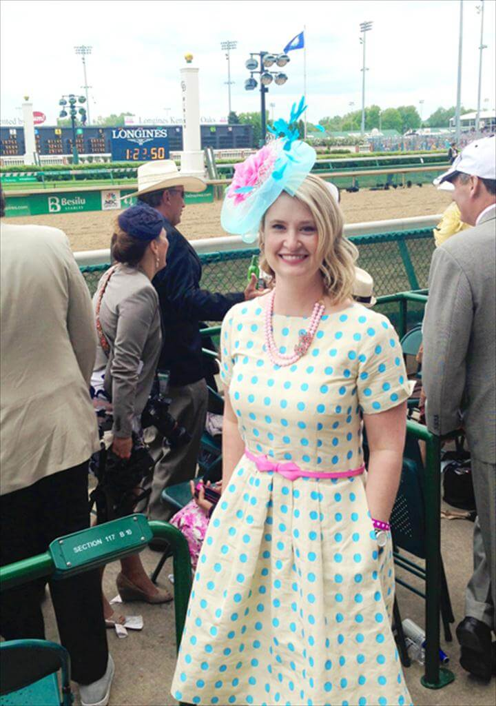 A Polka Dot Dress and the Kentucky Derby